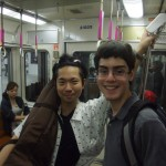 Matt Savage and Shota Ishikawa in Japan 2012