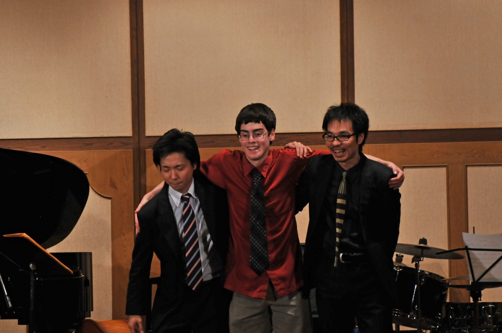 Matt Savage Trio in Kobe, Japan 2012