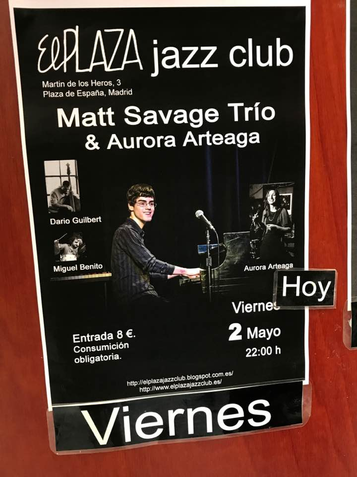Matt Savage - Madrid poster