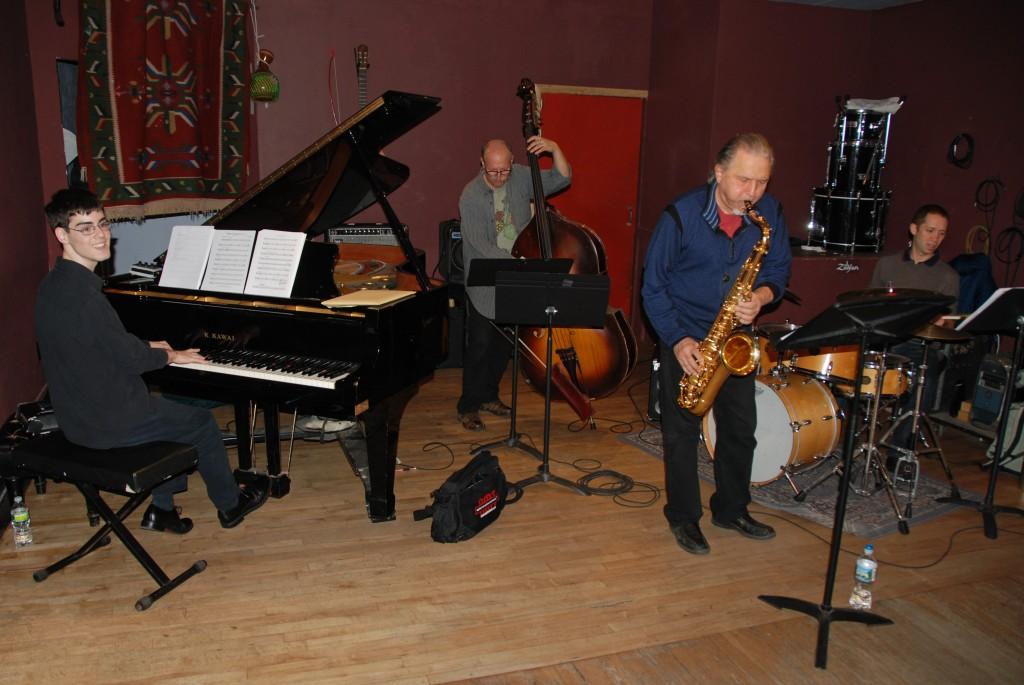 Matt Savage Quartet at the Lilypad 2012