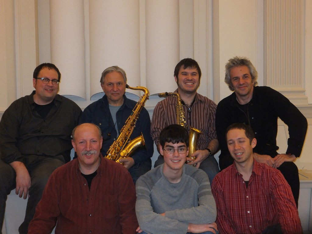 Matt Savage Quintet and Recording Engineers at Futura 2013