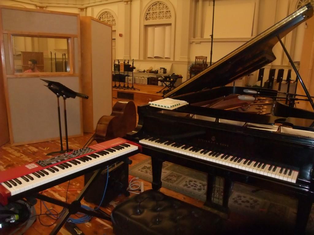 Futura Recording Studio, Setup for Matt Savage album 2013