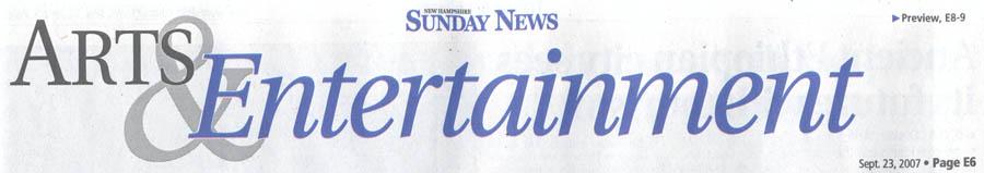 Union Leader article about Matt Savage